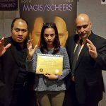 2in1 Jakarta Indonesie met actrice Chelsea Islan als deelnemer aan het begin van haar carrière.