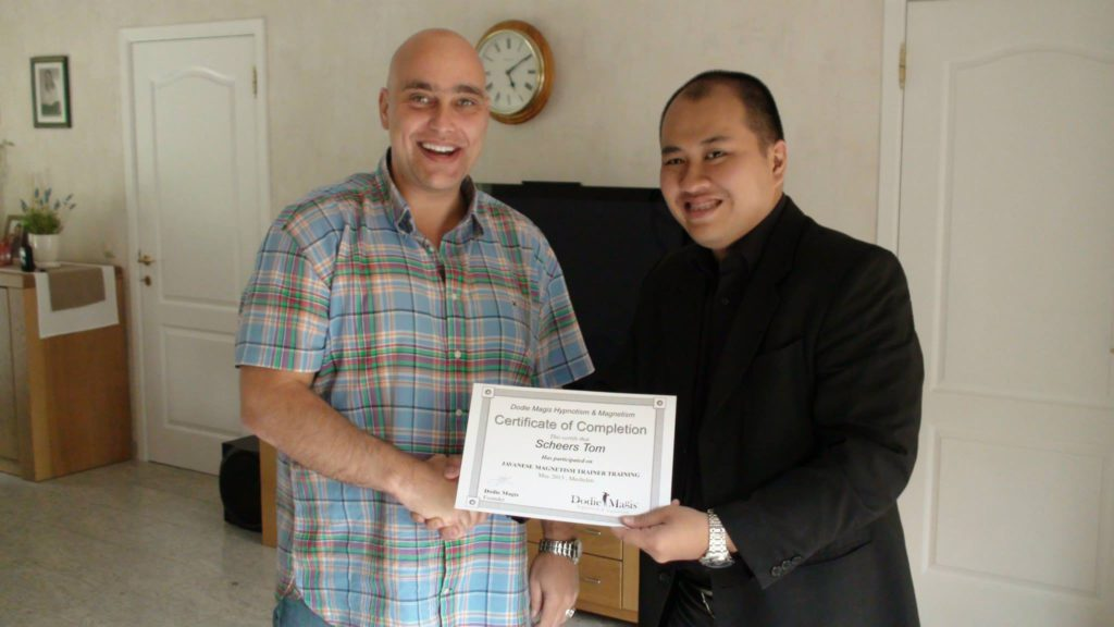 International Master Trainer For Dodie Magis Ultimate Javanese Magnetism and advanced